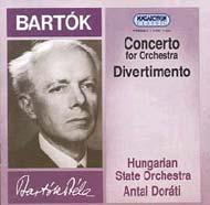 Bartók Béla: Concerto; Divertimento