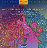 Marosszéki táncok; Székely keserves; Felszállott a páva