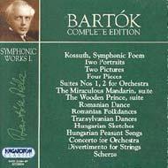 Bartók összkiadás - Zenekari művek I.
