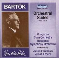 Bartók Béla: 2 zenekari szvit