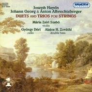 Albrechtsberger, Anton -Albrechtsberger, Johann Georg - Haydn, Joseph: Duók és triók vonósokra