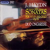 Haydn, Joseph: Hat szonáta szólóhegedűre  basszuskísérettel Op. 23