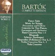 Bartók összkiadás -  Zenekari művek II.
