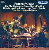 Farkas Ferenc: Zenekari művek