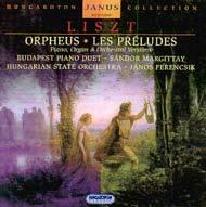 Liszt Ferenc: Orpheus; Les Preludes