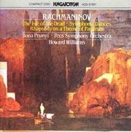Rahmanyinov, Szergej: Zenekari művek
