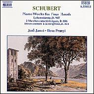 Schubert, Franz: Négykezes zongoraművek