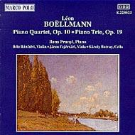 Boëlmann, Léon: Zongorakvartett, Zongoratrió