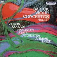 Bartók Béla: 2 hegedűverseny Nos. 1,2