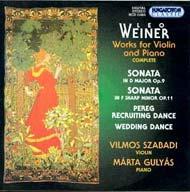 Weiner: Kompozíciók hegedűre és zongorára