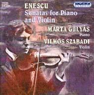 Enescu, George: Három szonáta zongorára és hegedűre (összes)