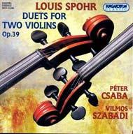 Spohr, Louis: Duettek két hegedűre Op.39