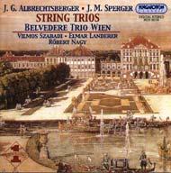 Albrechtsberger, Johann Georg; Sperger, Johannes Matthias: Vonóstriók
