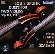 Spohr, Louis: Duettek két hegedűre Op. 148, 150