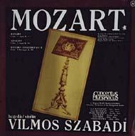 Mozart, Wolfgang Amadeus: Zenekari darabok szóló hegedűre