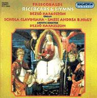 Frescobaldi, Girolamo: Ricercarok és himnuszok