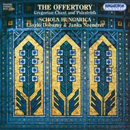 Offertórium - Gregorián énekek és Palestrina művei