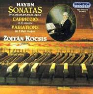 Haydn, Joseph: Zongoraszonáták