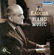 Kadosa Pál: Zongoramuzsika