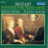 Mozart, Wolfgang Amadeus: Zongoraszonáták négy kézre