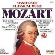 Masters Of Classical Music Vol.1 - Mozart