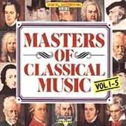 Masters Of Classical Music Vol.1-5
