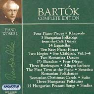 Bartók összkiadás - Zongoraművek I.