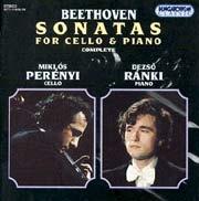 Beethoven, Ludwig van: Szonáták gordonkára és zongorára (Összes)