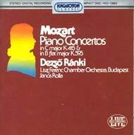 Mozart, Wolfang Amadeus: Zongoraversenyek K.595, K.415