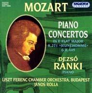 Mozart, Wolfang Amadeus: Zongoraversenyek K.271, K.449