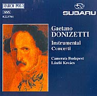 Donizetti, Gaetano: Instrumental Concerti