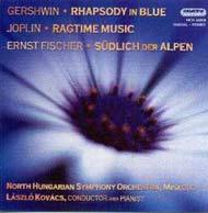 Gershwin, George: Kék rapszódia<br>Joplin, Scott: Ragtime Music<br>Ernst Fischer: Az Alpoktól délre