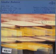 Balassa Sándor: Iris, Op.22; Lupercalia Op.24; Xenia, Op.20; Tabulae, Op.25
