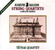 Haydn, Joseph: Vonósnégyesek (Összkiadás)