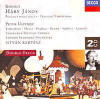 Kodály Zoltán: Háry János; Variations on a Hungarian Folksong