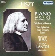 Liszt Ferenc: Piano Works for Piano Duet