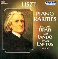 Liszt Ferenc: Ritkaságok zongorára