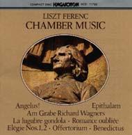 Liszt Ferenc: Kamaraművek