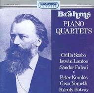 Brahms, Johannes: Zongoranégyesek