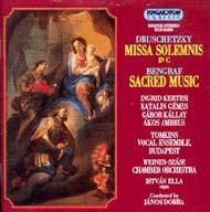 Druschetzky Georg: Missa solemnis; Bengraf: Templomi zene