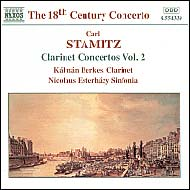 Stamitz, Carl: Clarinet Concertos Vol.2