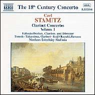 Stamitz, Carl: Clarinet Concertos Vol.1