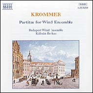 Krommer, Franz: Partitas for Wind Ensamble, Opp.57, 71, and 78