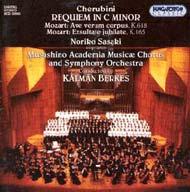 Cherubini: Requiem in C minor; Mozart: Exsultate jubilate K. 165, Ave verum corpus K. 618