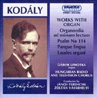 Kodály Zoltán: Orgonás kompozíció
