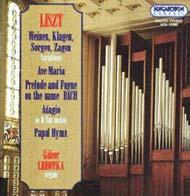 Liszt Ferenc: Orgonaművek