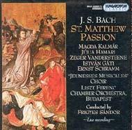Bach, J. S.: Máté Passió BWV 244