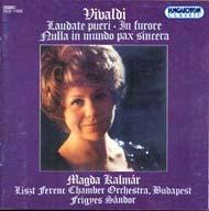 Antonio Vivaldi: Laudate Pueri RV 601; in Fuore RV 626; Nulla in Mundo Pax Sincera RV 630