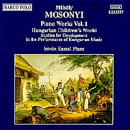 Mosonyi Mihály: Piano Works Vol.1