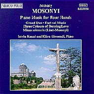 Mosonyi Mihály: Piano Music for Four Hands Vol.2